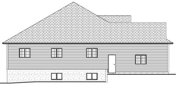 Country, Traditional House Plan 80507 with 3 Beds, 2 Baths, 2 Car Garage Picture 2