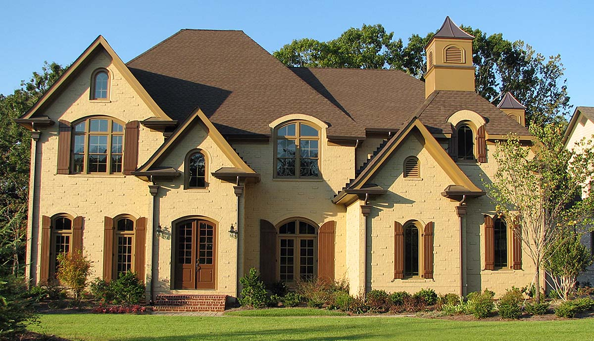 European, Traditional House Plan 80728 with 5 Beds, 6 Baths, 3 Car Garage Elevation