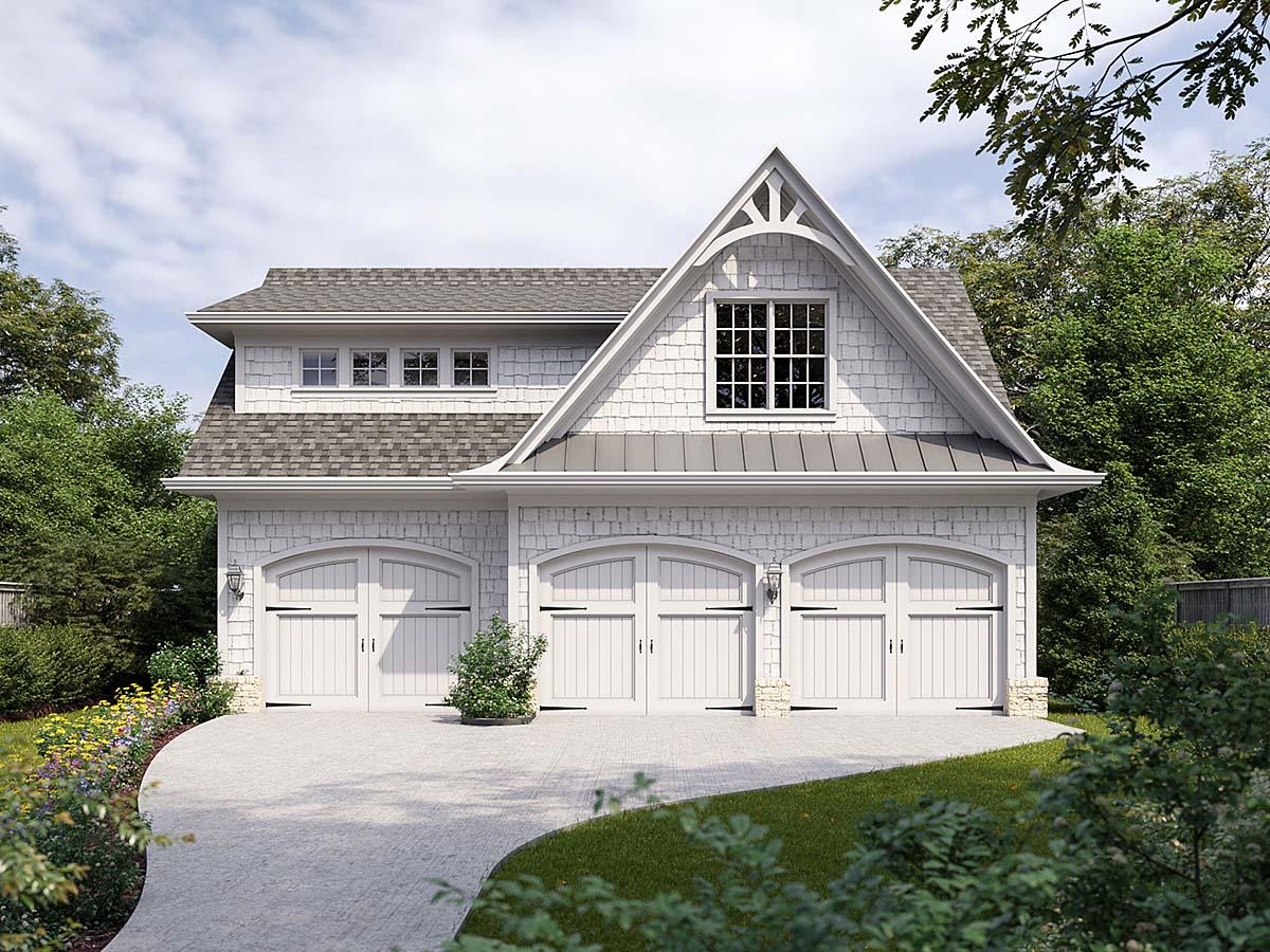 Garage Plan 80737