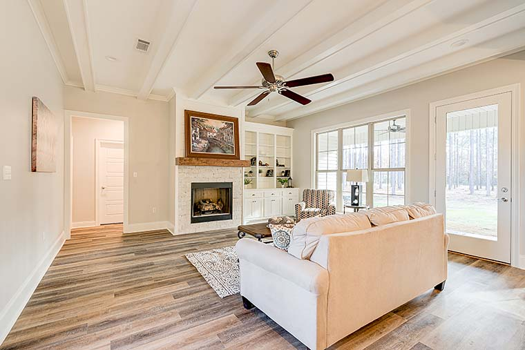 Country, Farmhouse, Traditional House Plan 80800 with 4 Beds, 2 Baths, 2 Car Garage Picture 5