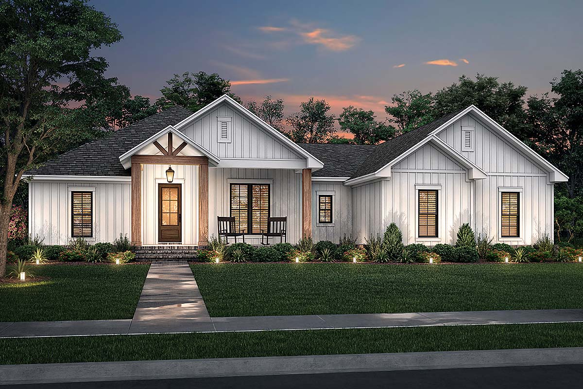 House Plan 80806