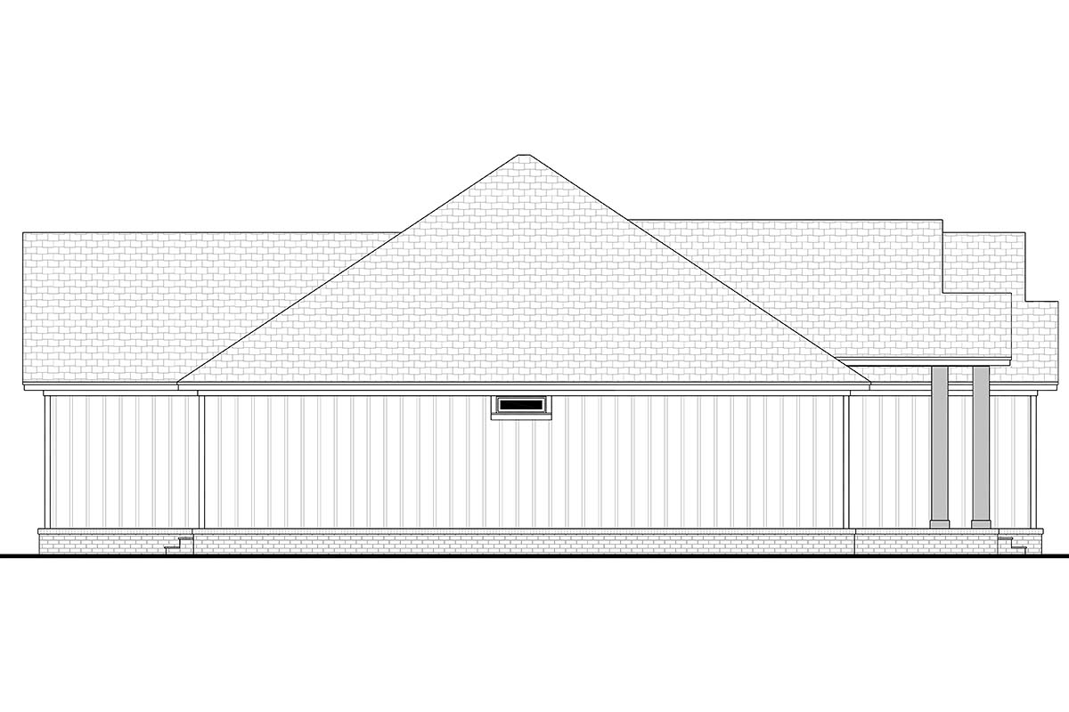 Country, Farmhouse, Ranch House Plan 80806 with 3 Beds, 3 Baths, 2 Car Garage Picture 2