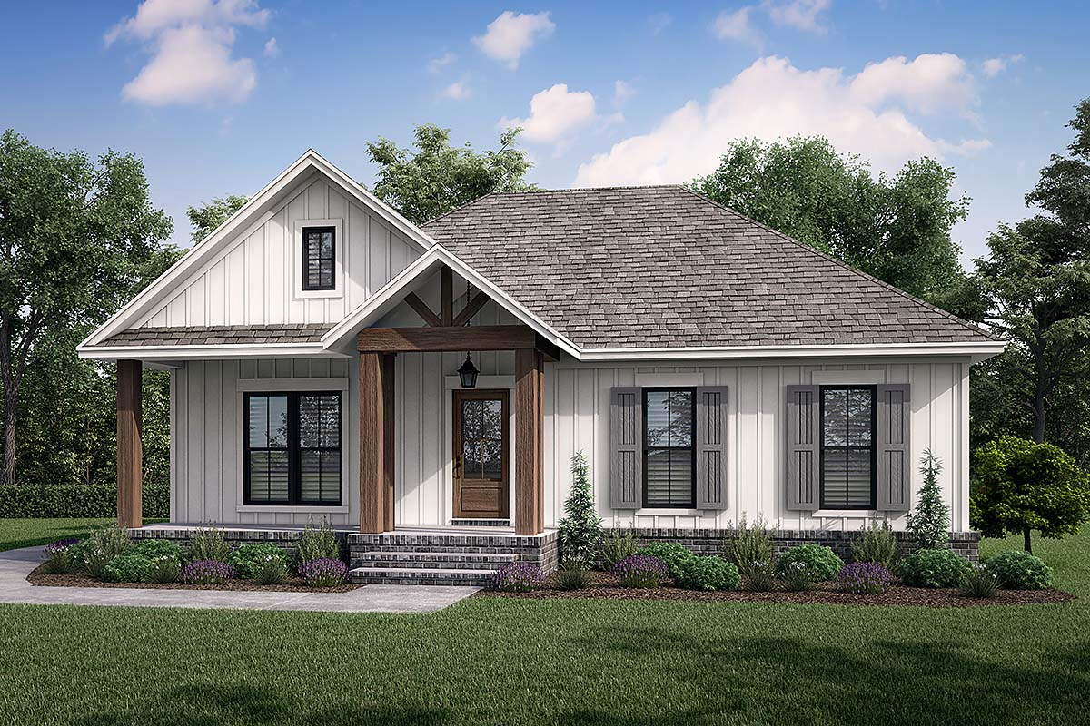 House Plan 80811
