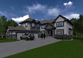 Plan Number 81144 - 3811 Square Feet