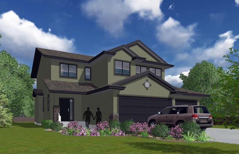 House Plan 81154