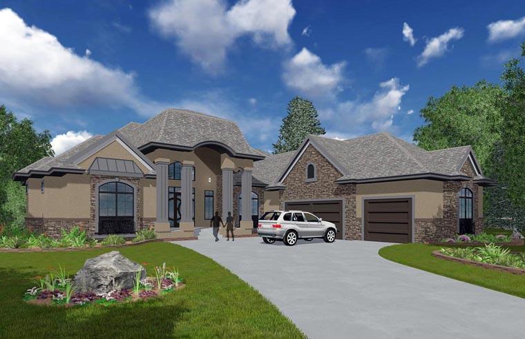 House Plan 81155
