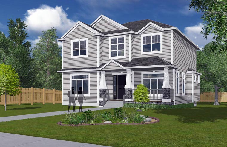 House Plan 81157