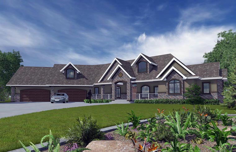 House Plan 81158