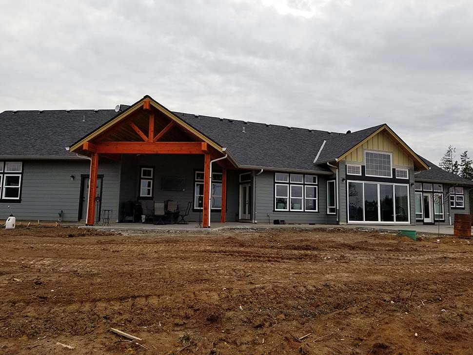 Craftsman, Ranch House Plan 81200 with 3 Beds, 3 Baths, 3 Car Garage Picture 6