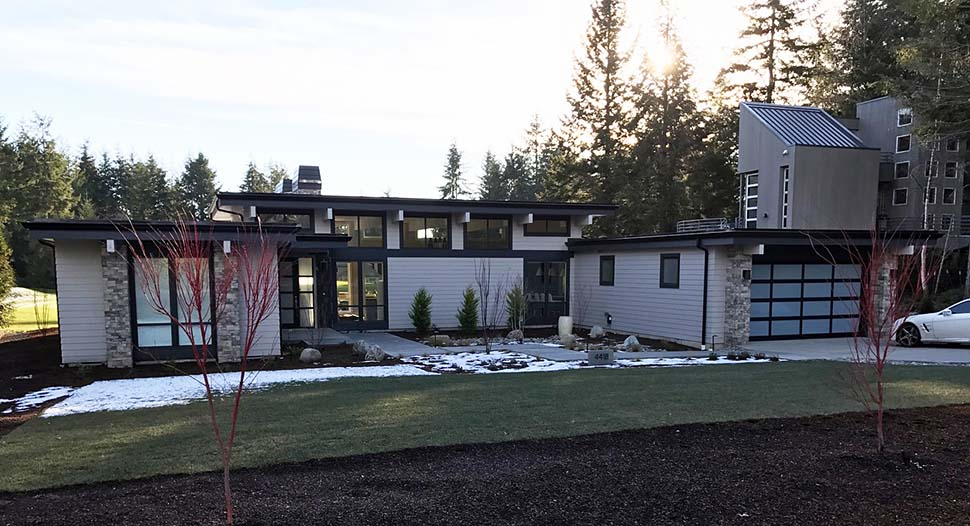 Contemporary, Modern House Plan 81203 with 3 Beds, 3 Baths, 2 Car Garage Picture 3