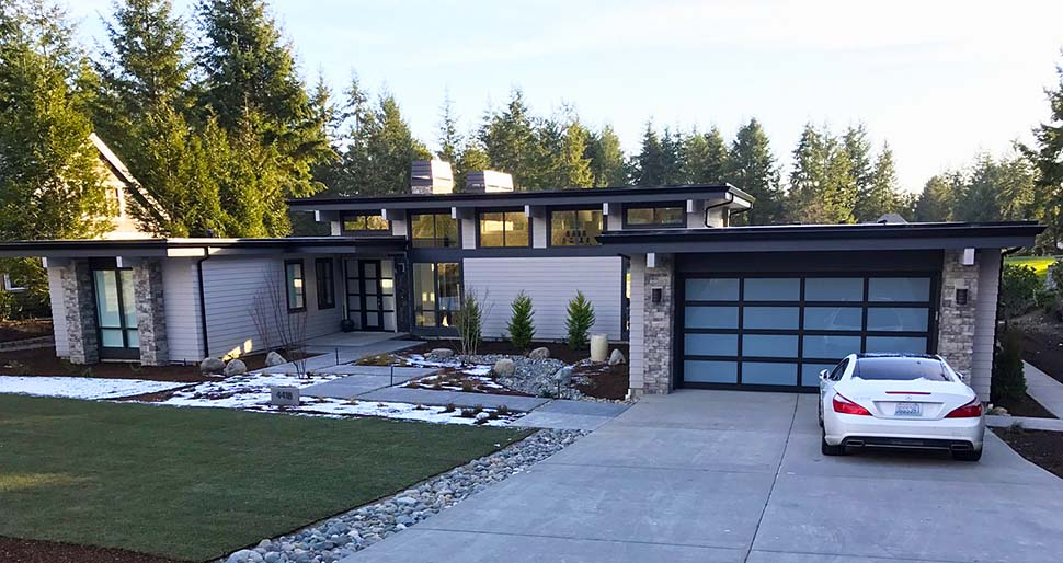Contemporary, Modern House Plan 81203 with 3 Beds, 3 Baths, 2 Car Garage Picture 4
