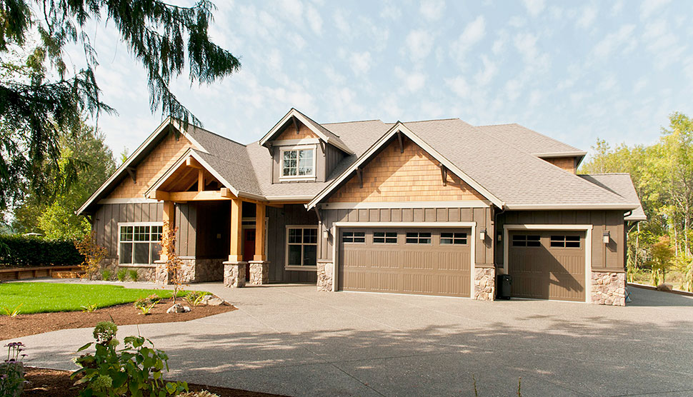 Bungalow, Craftsman House Plan 81209 with 3 Beds, 3 Baths, 3 Car Garage Picture 23