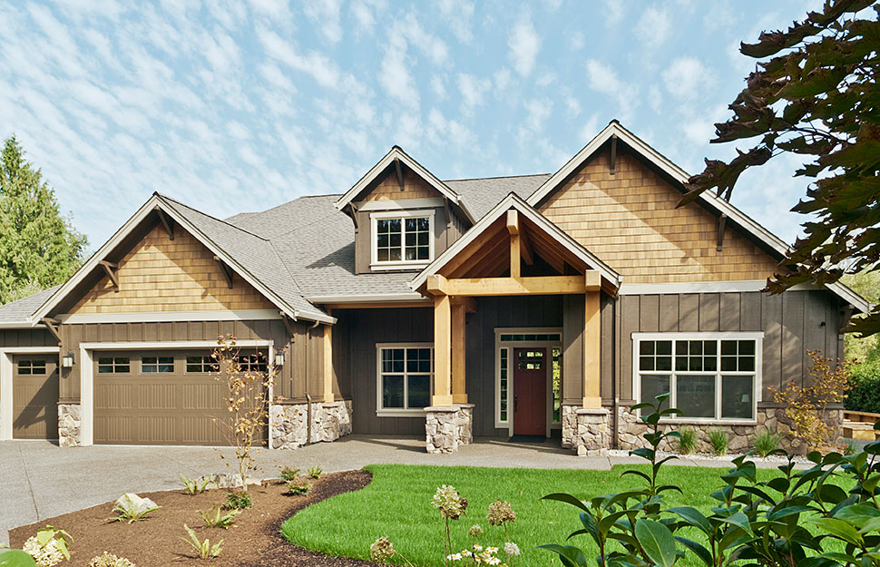 Bungalow, Craftsman House Plan 81209 with 3 Beds, 3 Baths, 3 Car Garage Picture 27
