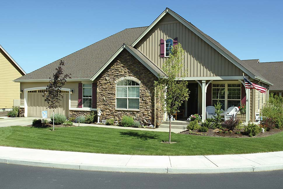 Craftsman, Ranch, Traditional House Plan 81212 with 3 Beds, 2 Baths, 3 Car Garage Picture 10