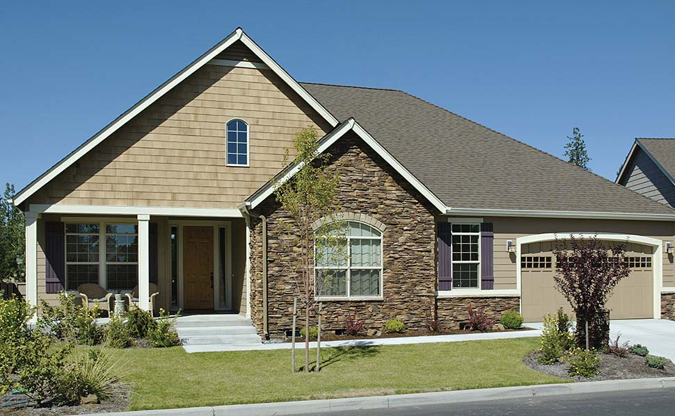 Craftsman, Ranch, Traditional House Plan 81212 with 3 Beds, 2 Baths, 3 Car Garage Picture 2