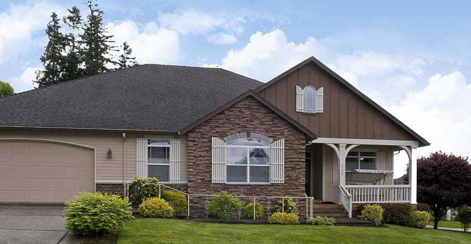 Craftsman, Ranch, Traditional House Plan 81212 with 3 Beds, 2 Baths, 3 Car Garage Picture 9