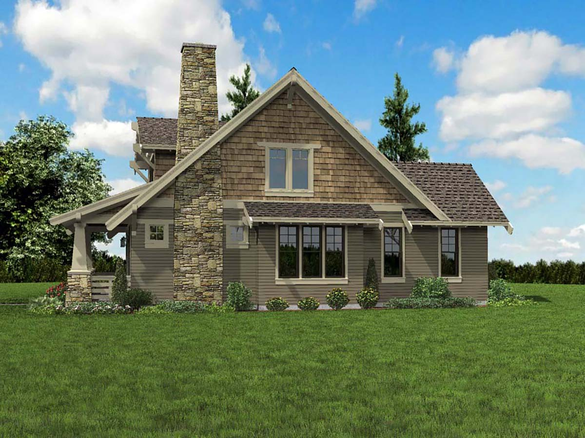 Bungalow, Cottage, Craftsman House Plan 81214 with 3 Beds, 3 Baths Picture 1