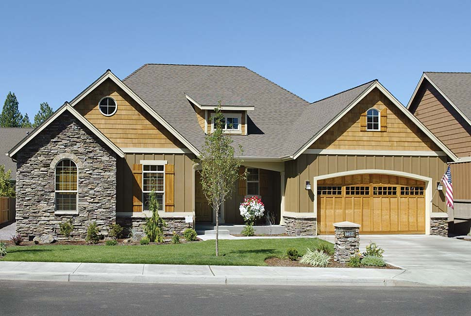Bungalow, Craftsman House Plan 81227 with 3 Beds, 2 Baths, 3 Car Garage Picture 10
