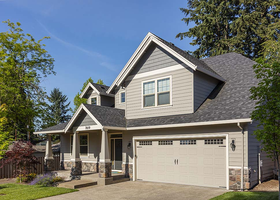 Cottage, Craftsman House Plan 81228 with 4 Beds, 3 Baths, 2 Car Garage Picture 6