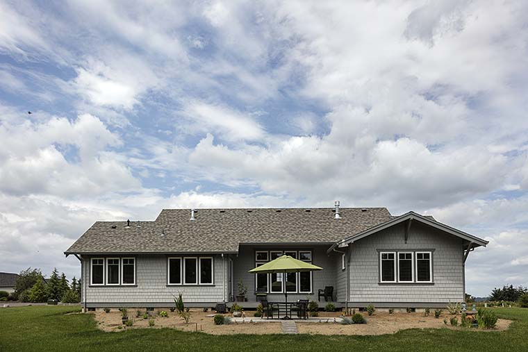 Bungalow, Craftsman House Plan 81229 with 3 Beds, 3 Baths, 2 Car Garage Picture 5