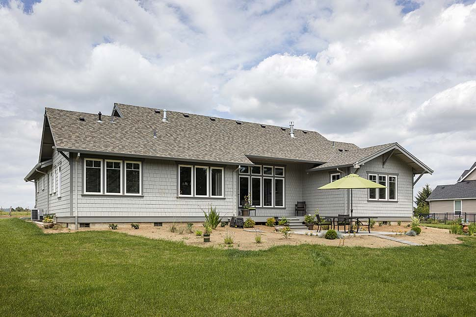 Bungalow, Craftsman House Plan 81229 with 3 Beds, 3 Baths, 2 Car Garage Picture 6