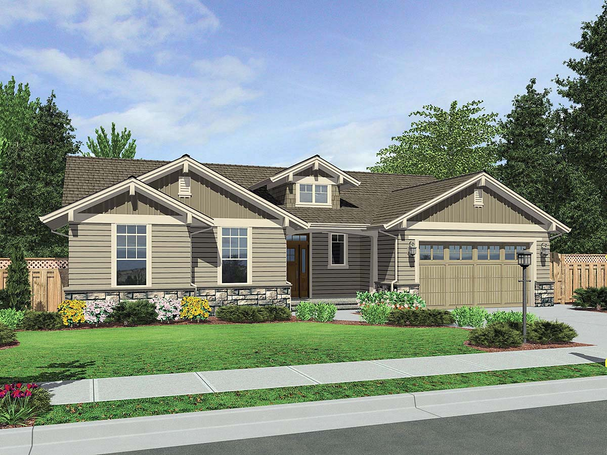 House Plan 81237