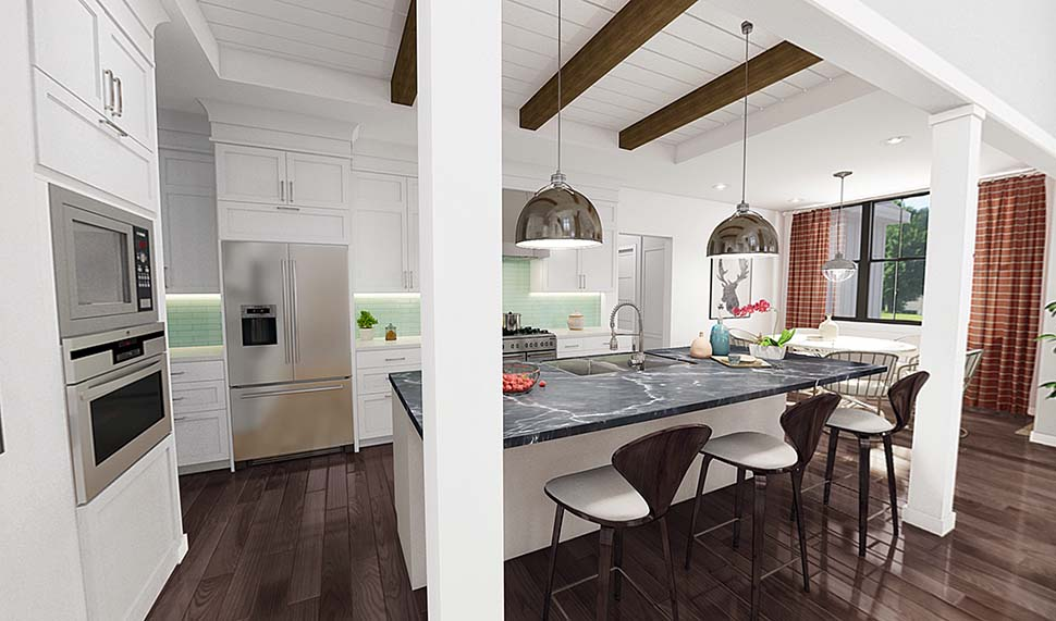 Country, Farmhouse, Traditional House Plan 81244 with 4 Beds, 4 Baths, 3 Car Garage Picture 1