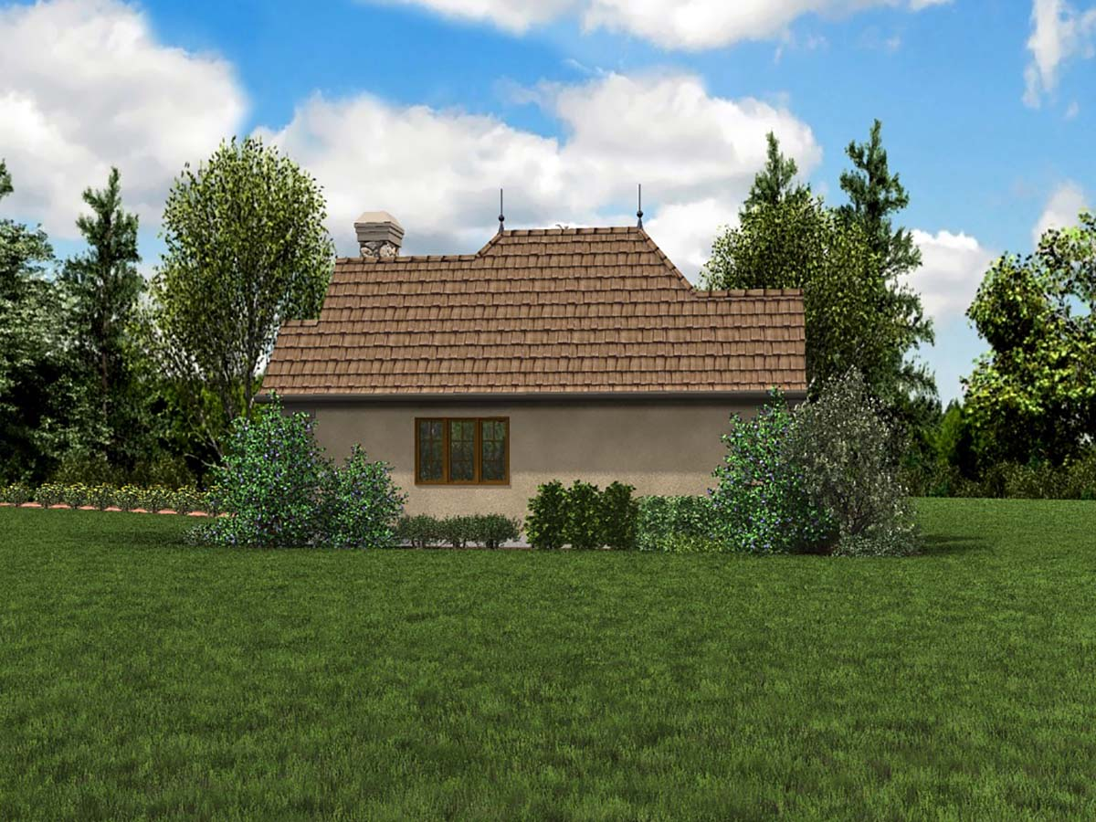 Cottage, Craftsman, One-Story, Tuscan House Plan 81251 with 1 Beds, 1 Baths Picture 1
