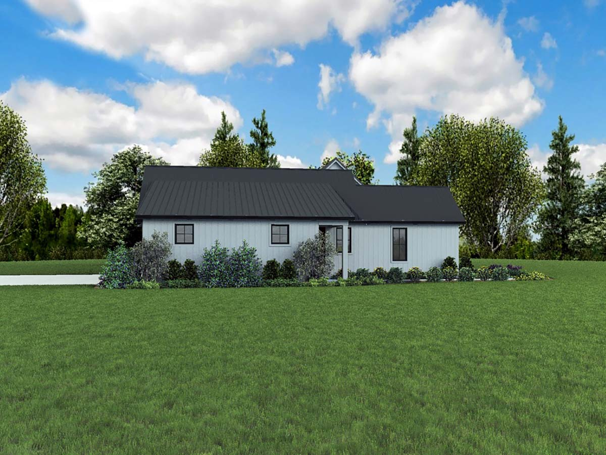 Country, Farmhouse, Ranch House Plan 81253 with 3 Beds, 3 Baths, 3 Car Garage Picture 1