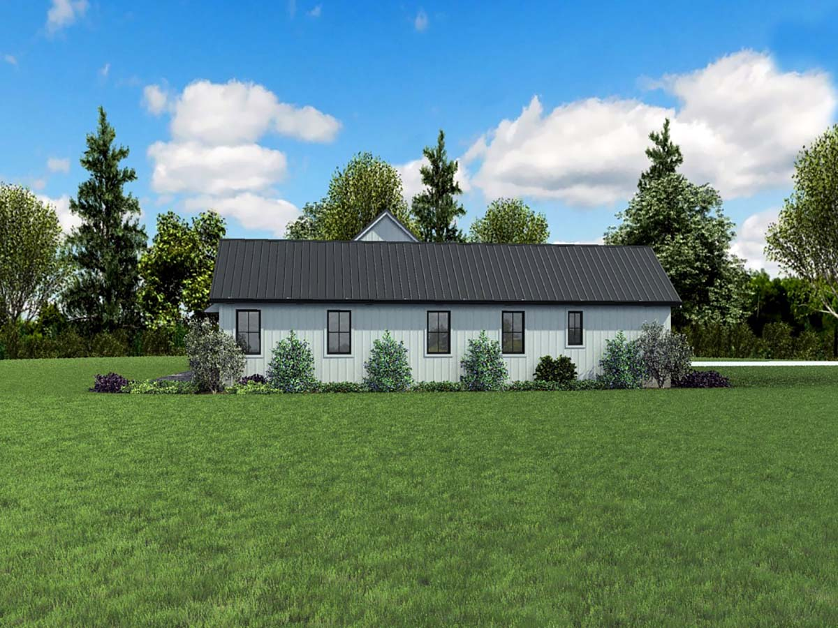 Country, Farmhouse, Ranch House Plan 81253 with 3 Beds, 3 Baths, 3 Car Garage Picture 2
