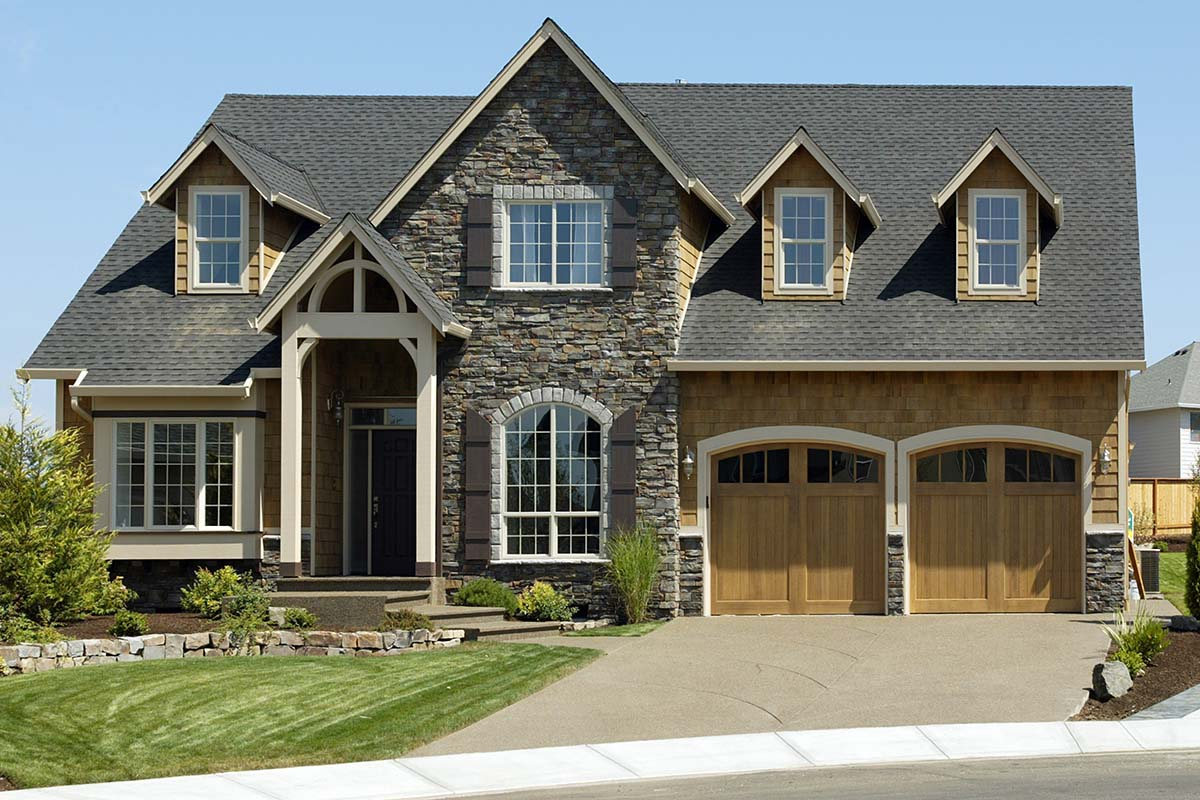 Craftsman, European, French Country, Traditional House Plan 81255 with 4 Beds, 3 Baths, 3 Car Garage Picture 1