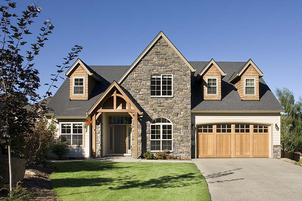 Craftsman, European, French Country, Traditional House Plan 81255 with 4 Beds, 3 Baths, 3 Car Garage Picture 7