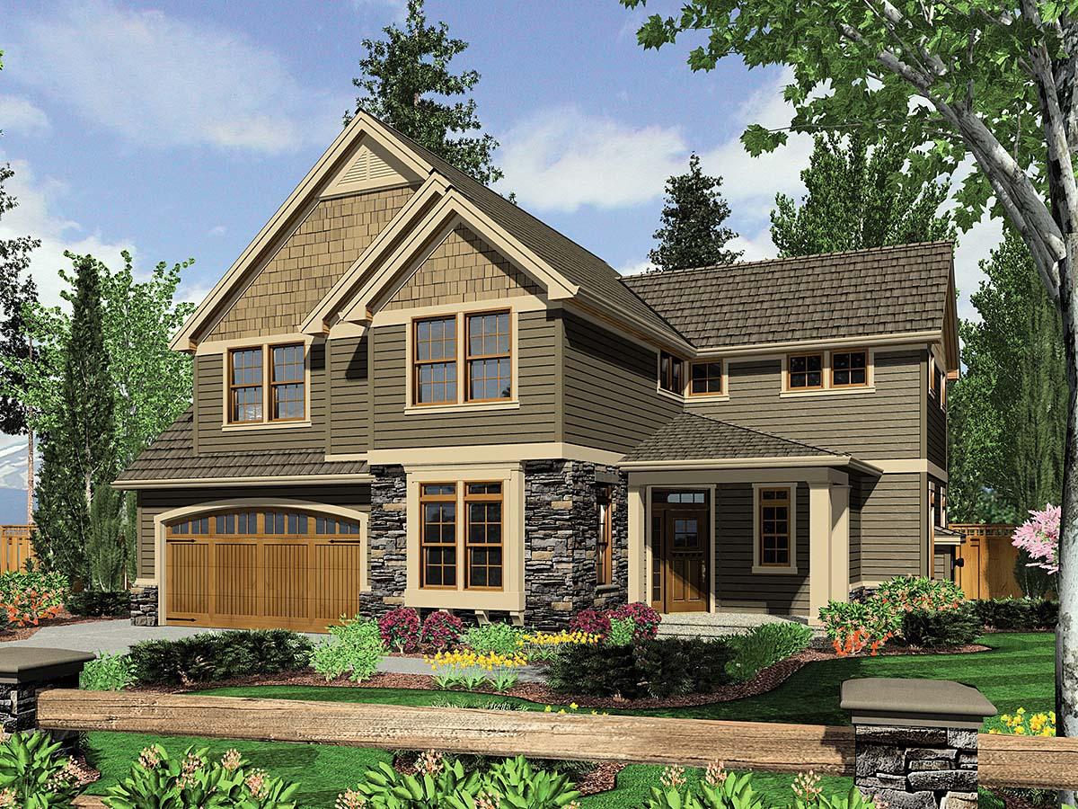 House Plan 81256