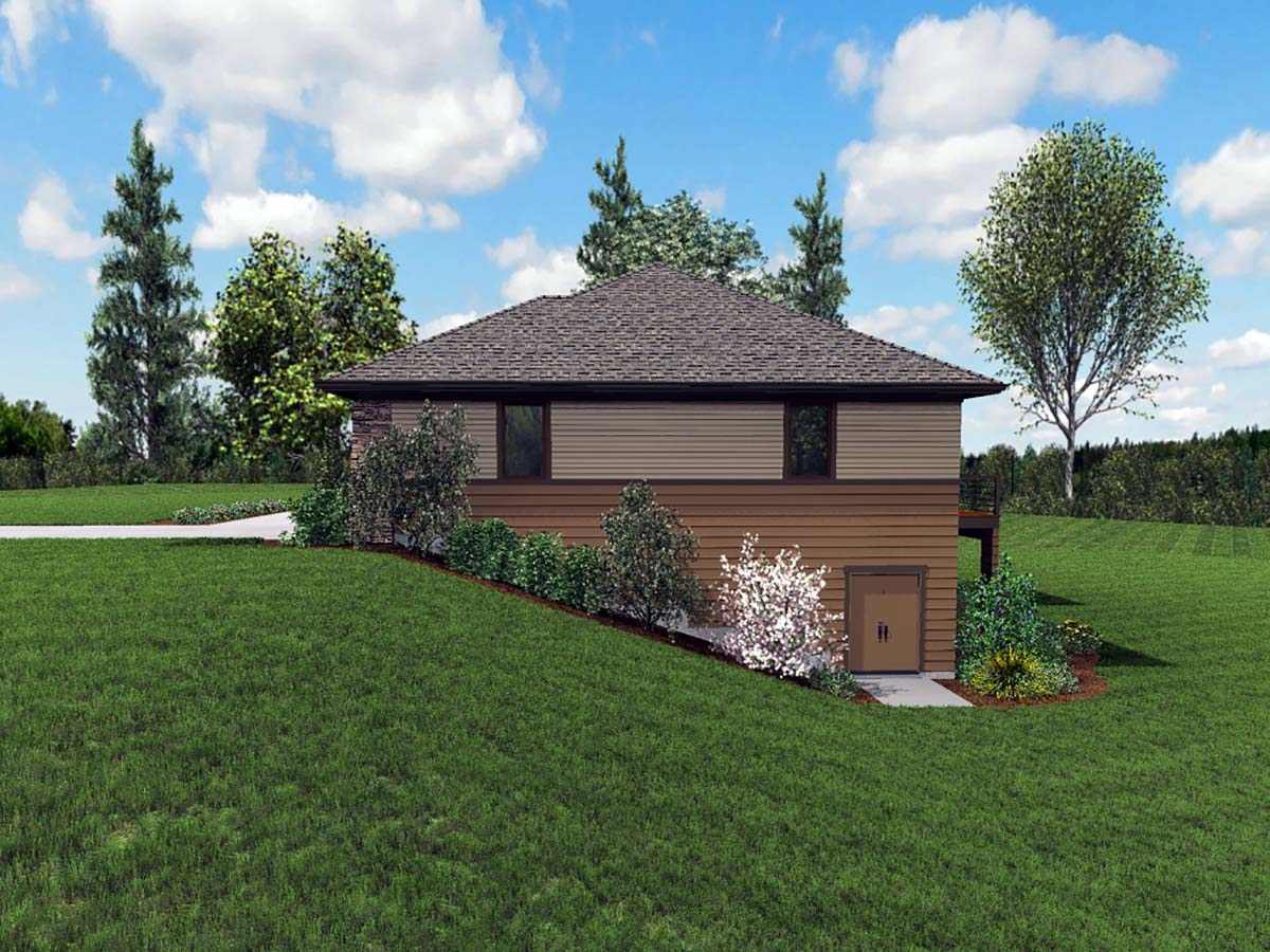 Contemporary, Craftsman, Tuscan House Plan 81262 with 3 Beds, 4 Baths, 2 Car Garage Picture 1