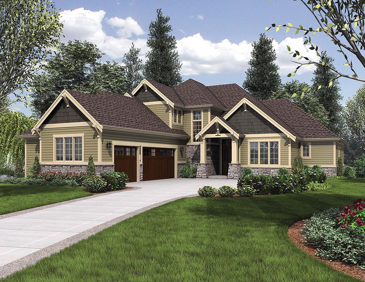 House Plan 81267