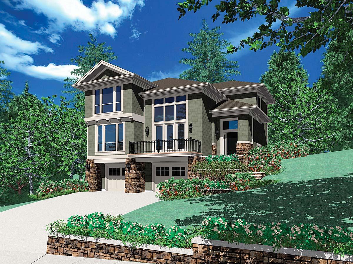 House Plan 81274