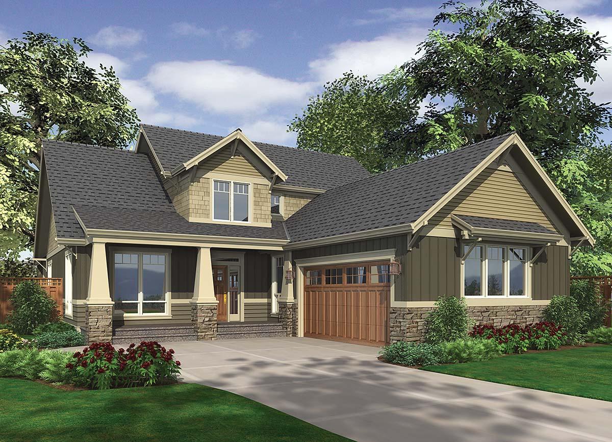 House Plan 81277