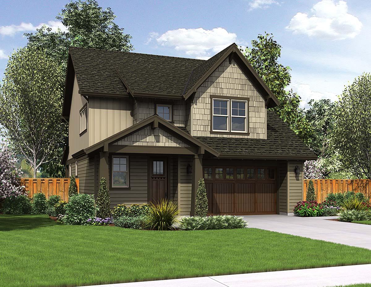 House Plan 81286