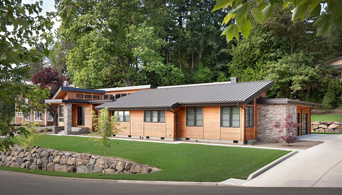 Contemporary, Modern House Plan 81306 with 3 Beds, 4 Baths, 3 Car Garage Picture 1