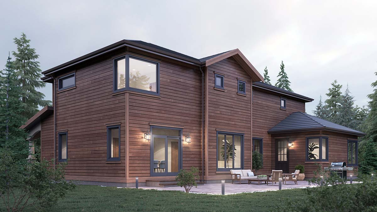 Craftsman, Traditional House Plan 81922 with 5 Beds, 4 Baths, 2 Car Garage Picture 1