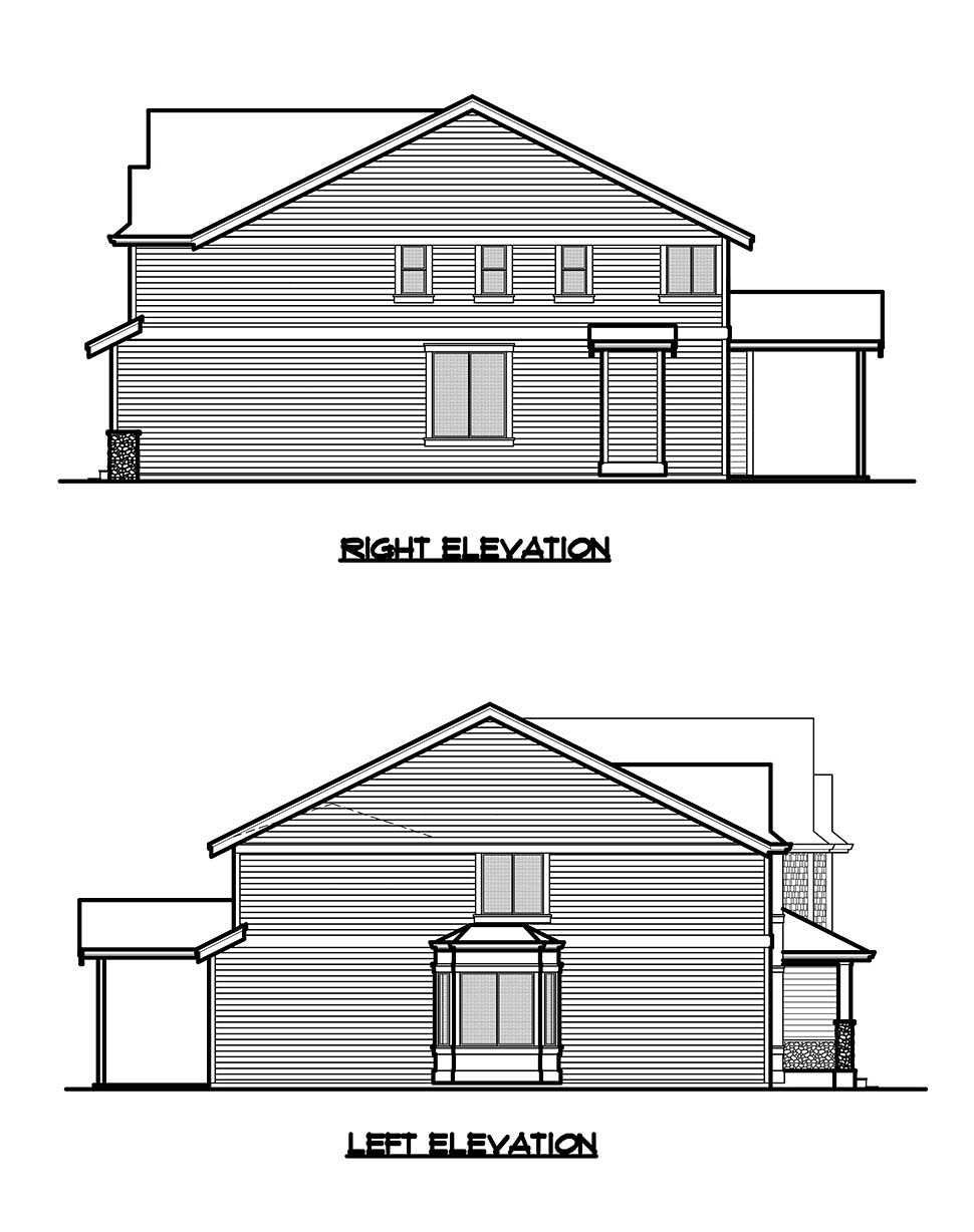 Craftsman, Traditional House Plan 81924 with 4 Beds, 3 Baths, 2 Car Garage Picture 16