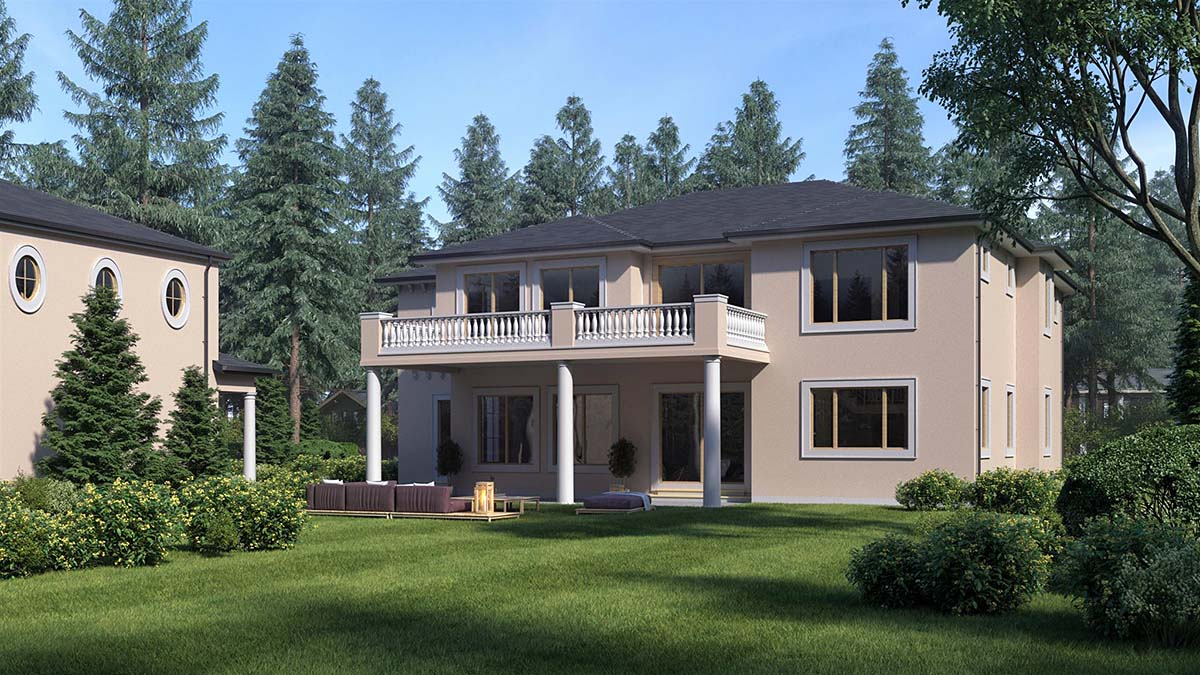 Mediterranean House Plan 81941 with 4 Beds, 5 Baths Picture 1