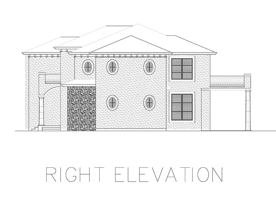 Mediterranean House Plan 81941 with 4 Beds, 5 Baths Picture 6