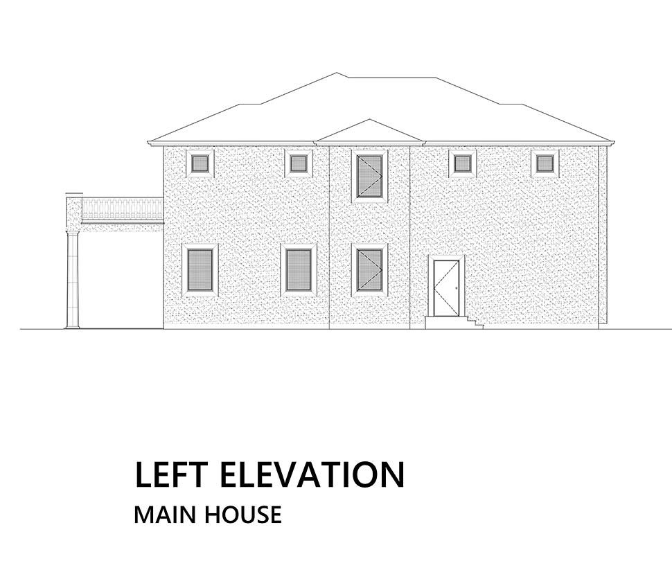 Mediterranean House Plan 81941 with 4 Beds, 5 Baths Picture 7
