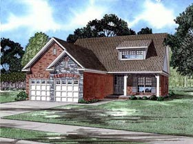Country Craftsman House Plan 82002 Elevation