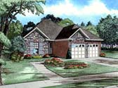 Plan Number 82003 - 1379 Square Feet