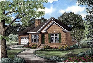 Ranch House Plan 82008 Elevation