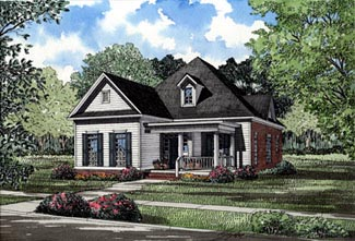 Country House Plan 82016 Elevation