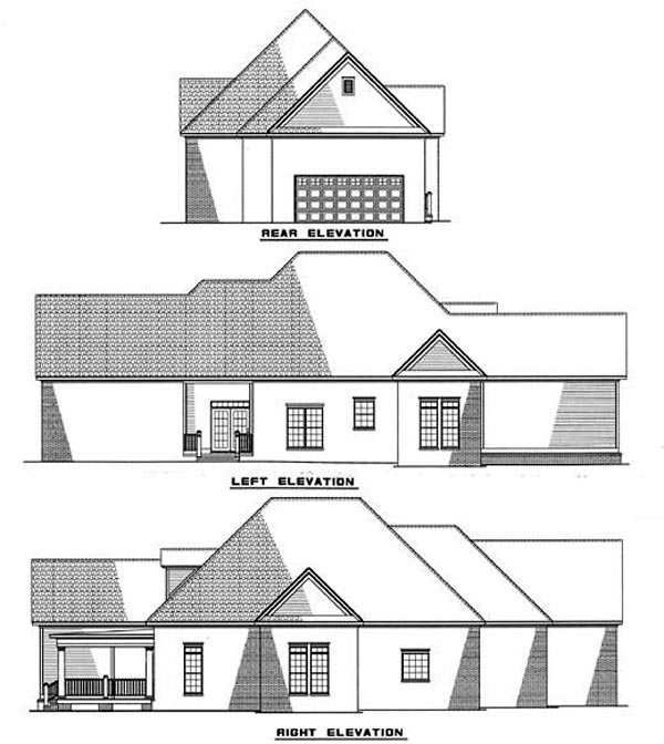 Country House Plan 82016 Rear Elevation