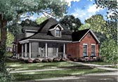 Plan Number 82020 - 1845 Square Feet